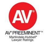 AV Preeminent Martindale-Hubbell Lawyer Ratings Badge